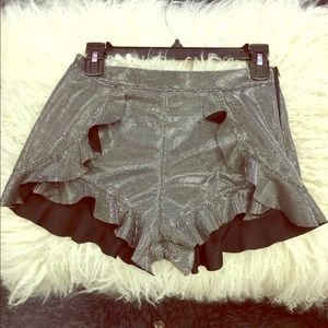 NWT Shorts with ruffles
